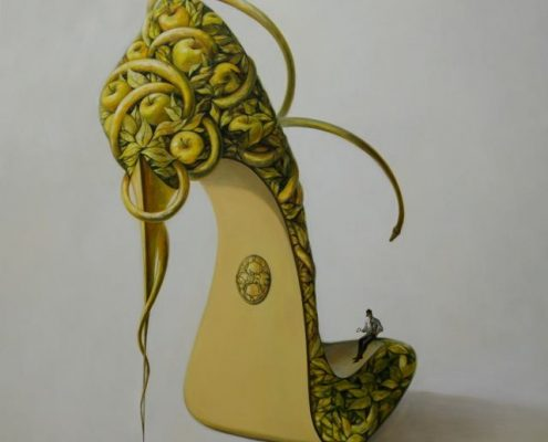 Shoe Paintings