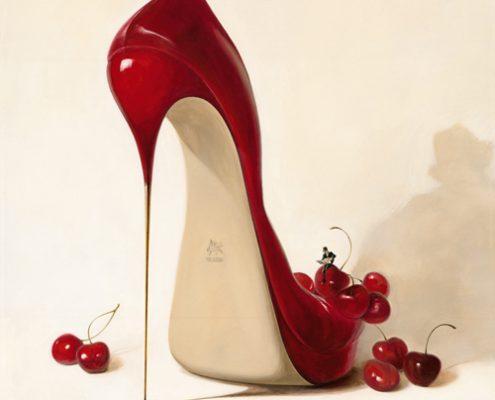 150 x 150 cm Cherry Love 2008