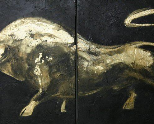 70 x 140 cm Minotaureus X 2009