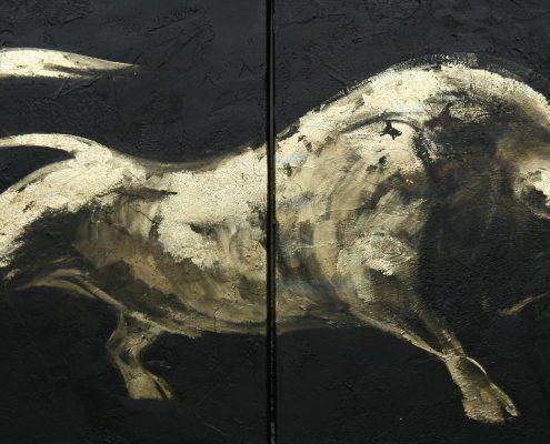 70 x 140 cm Minotaureus XI 2009