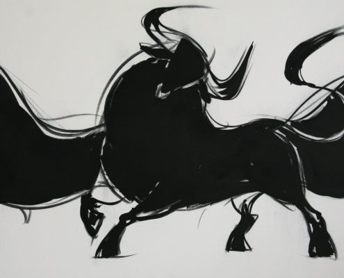 80 x 200 cm Pamplona IV 2009