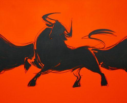 80 x 200 cm Pamplona roja 2009