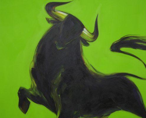90 x 90 cm Toro II 2009