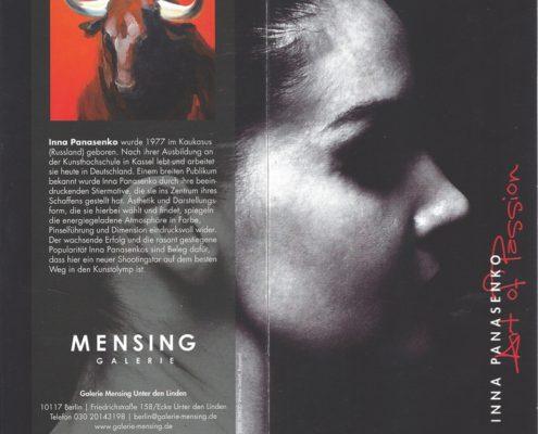 Galerie Mensing Berlin 2010