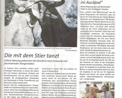 Kurstadt Nachrichten 2009