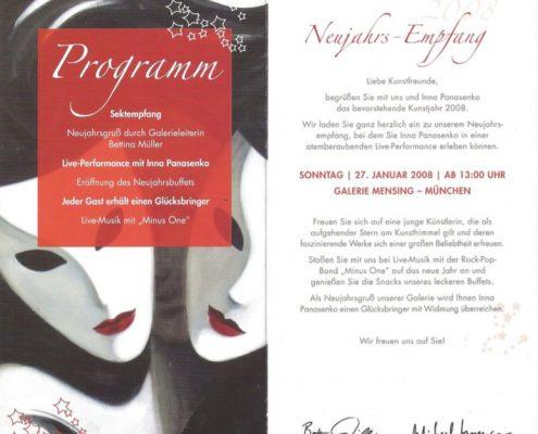 Einladung Ausstellung München