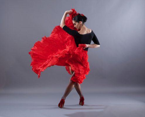 Inna Panasenko dancing